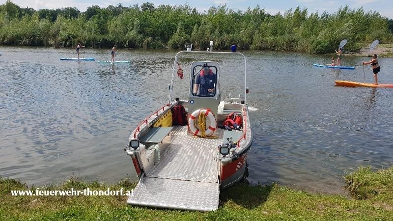 Wasserdiensteinsatz / Sicherungsdienst